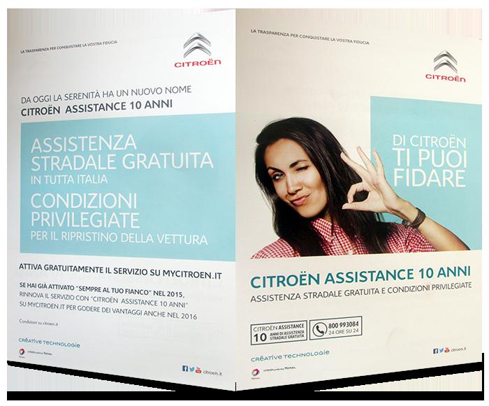 Citroen Assistance 10 anni